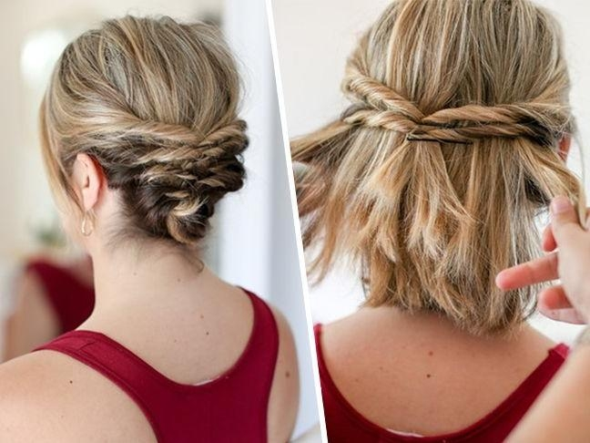 Featured Photo of Updo Short Hairstyles