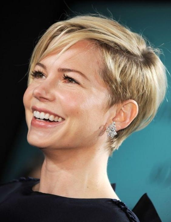 Photo Gallery Of Short Haircuts For Women With Big Ears Viewing 12