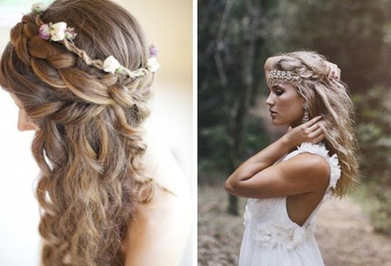 Best And Newest Boho Long Hairstyles Pertaining To Boho Hairstyle Inspiration | Medium Hair Styles Ideas –  (View 3 of 20)