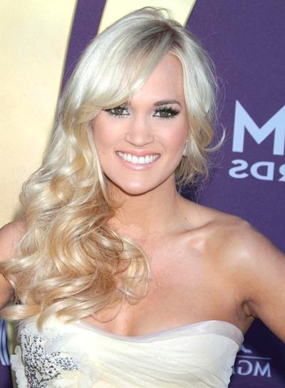 Best And Newest Carrie Underwood Long Hairstyles With Regard To Carrie Underwood – Beauty Riot (View 5 of 15)