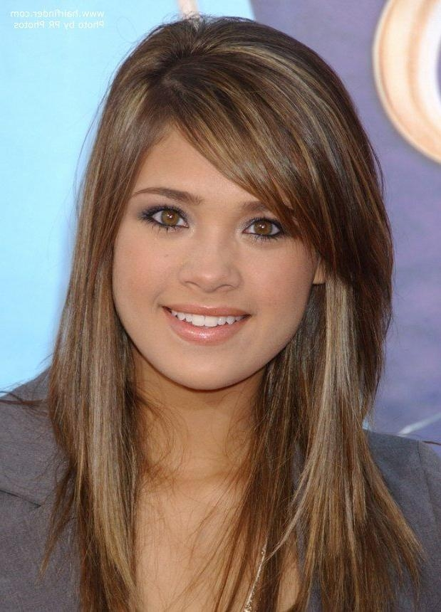 Best And Newest Cute Long Haircuts With Bangs And Layers Regarding Best 25+ Bangs For Long Hair Ideas On Pinterest | Long Voluminous (View 5 of 15)