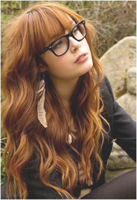 Best And Newest Cute Long Hairstyles With Bangs Intended For Blonde Long Wavy Hairstyles With Bangs: Cute Haircuts – Popular (View 4 of 20)