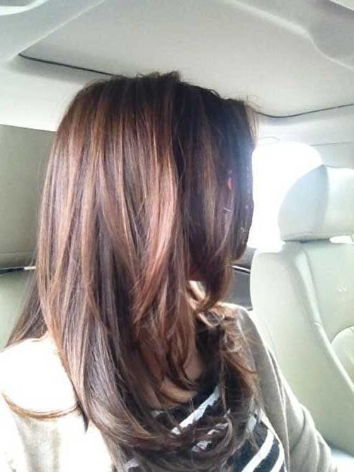 Best And Newest Fall Long Hairstyles With 25+ Beautiful Medium Long Haircuts Ideas On Pinterest | Medium (View 6 of 15)