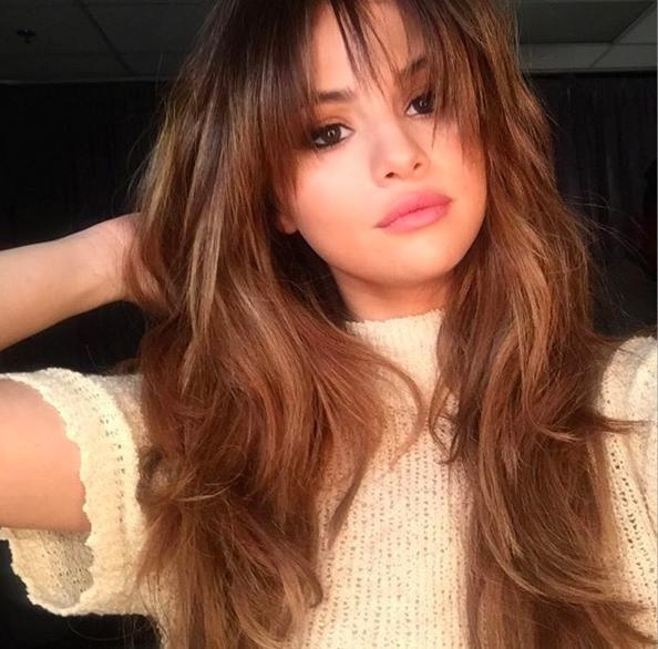 Best And Newest Fringe Long Hairstyles Throughout Best Fringe Hairstyles For 2017 – How To Pull Off A Fringe Haircut (View 8 of 20)