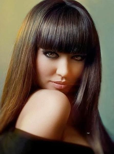 Best And Newest Full Fringe Long Hairstyles For Full Fringe Long Hairstyles | Full Dose (View 4 of 20)