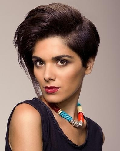 Best And Newest Half Short Half Long Haircuts Pertaining To Chic Spring Short Hairstyles For 2014 | 2017 Haircuts, Hairstyles (View 3 of 15)