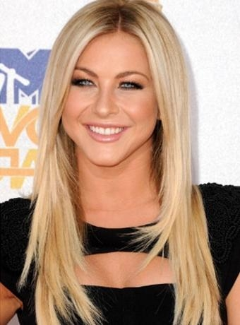 Best And Newest Julianne Hough Long Hairstyles With Regard To Julianne Hough's Long Straight Hairstyle At The 2010 Mtv Movie Awards (View 5 of 15)