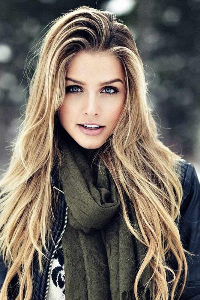 Best And Newest Long Face Long Hairstyles Inside Long Hairstyles : Popular Hairstyles For Long Hair 2017 Popular (View 8 of 20)