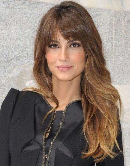 15 Ideas of Long Haircuts Round Face