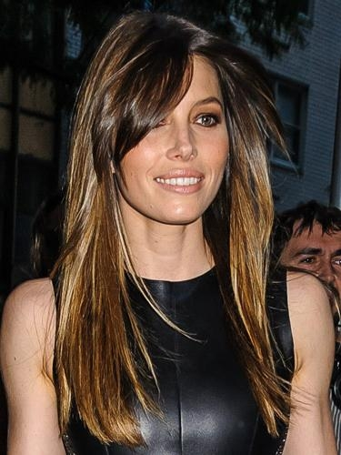 Best And Newest Long Hairstyle With Fringe Intended For 37 Fringe Hair Cuts For 2018 – Women's Hairstyle Inspiration (View 9 of 20)