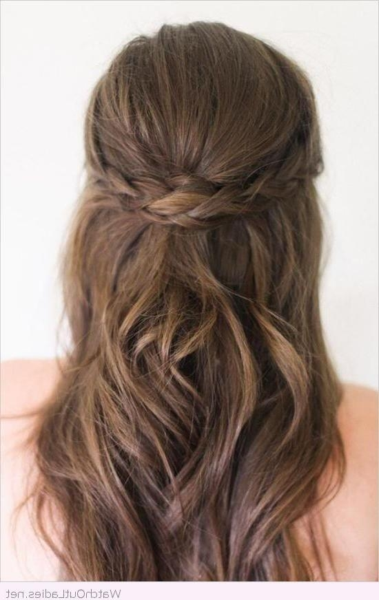 Best And Newest Long Hairstyles For Balls In Best 25+ Formal Hairstyles Down Ideas On Pinterest | Half Up Half (View 2 of 20)