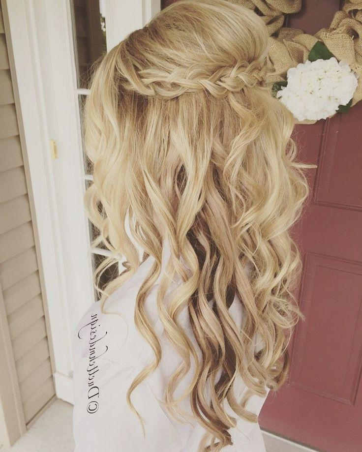 Best And Newest Long Hairstyles For Bridesmaids With Regard To 25+ Trending Bridesmaids Hairstyles Ideas On Pinterest (View 7 of 20)