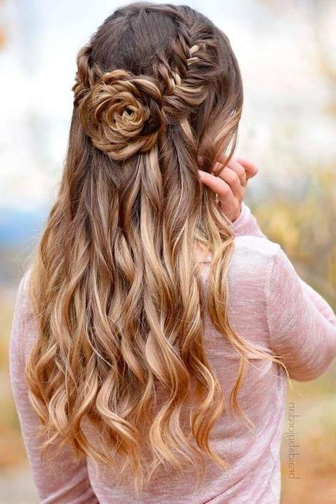 Best And Newest Long Hairstyles For Dances With Regard To Best 25+ Homecoming Hairstyles Ideas On Pinterest | Hair Styles (View 2 of 20)