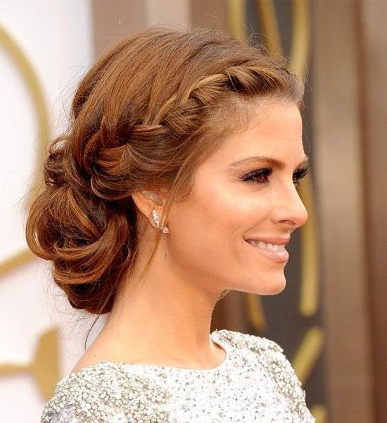 Best And Newest Long Hairstyles For Evening Wear Intended For Best 25+ Evening Hairstyles Ideas On Pinterest | Updos For Medium (View 2 of 20)
