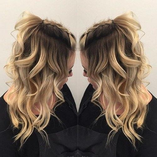 Best And Newest Long Hairstyles For Night Out Regarding Best 25+ Night Out Hairstyles Ideas On Pinterest | Side Swept (View 2 of 20)