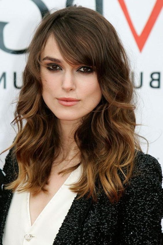Best And Newest Long Hairstyles For Square Faces With Bangs With Best 25+ Square Face Hairstyles Ideas On Pinterest | Haircut For (View 2 of 15)