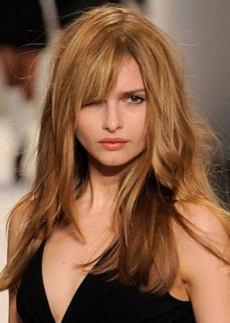 Best And Newest New Long Hairstyles Pertaining To New Long Hairstyles With Bangs | Hair Style And Color For Woman (View 16 of 20)