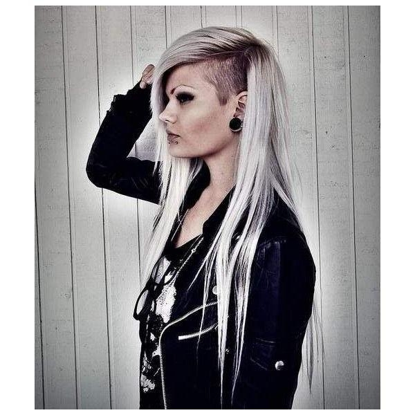 Best And Newest Side Shaved Long Hairstyles Intended For The 25+ Best Half Shaved Hairstyles Ideas On Pinterest | Half (View 10 of 20)