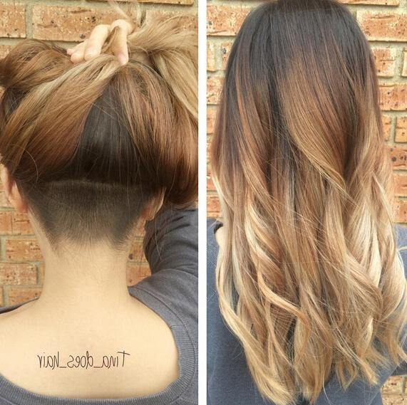 Best And Newest Undercut Long Hairstyles For Women Regarding 30 Awesome Undercut Hairstyles For Girls 2017 – Hairstyle Ideas (View 5 of 20)