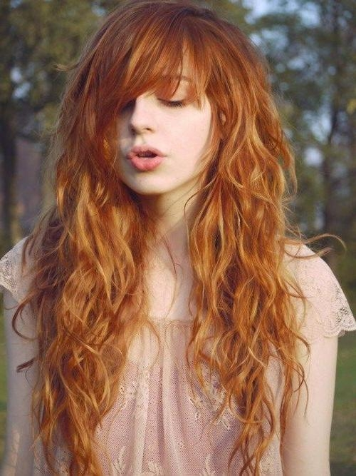Best And Newest Wavy Curly Long Hairstyles Intended For Best 25+ Long Wavy Haircuts Ideas On Pinterest | Cute Mom Haircuts (View 5 of 20)