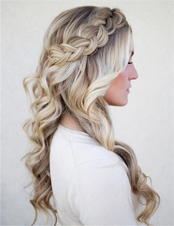 Best And Newest Wedding Half Up Long Hairstyles With 20 Awesome Half Up Half Down Wedding Hairstyle Ideas (View 17 of 20)