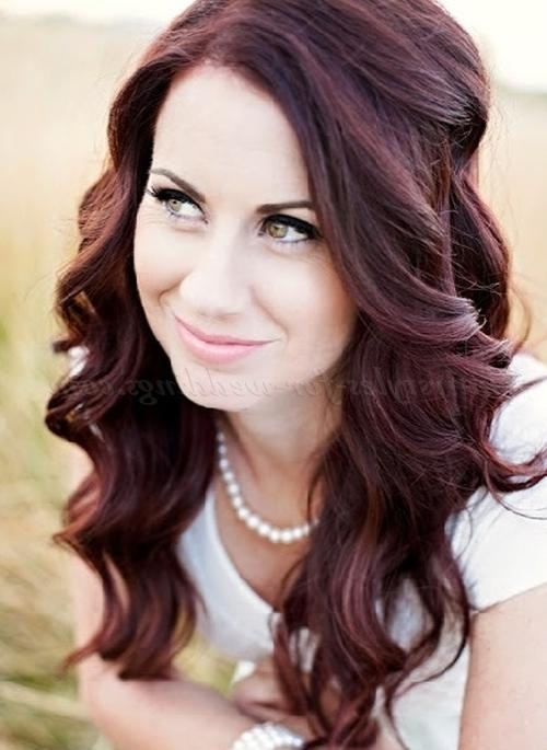 Best And Newest Wedding Long Down Hairstyles Regarding Long Wedding Hairstyles – Hair Down Hairstyle For Weddings (View 6 of 20)