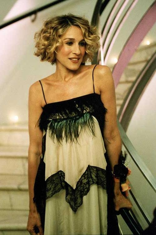 Carrie bradshaw curly hair