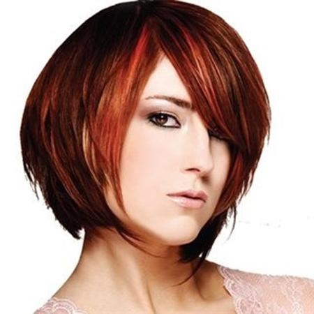 Best Colors For Short Hair | Short Hairstyles 2016 – 2017 | Most Throughout Auburn Short Hairstyles (View 14 of 20)