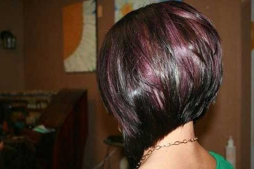 Best Hair Color For Short Hair   Short Hairstyles 2016 – 2017 With Regard To Burgundy Short Hairstyles (View 19 of 20)