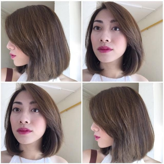 Best Ladies' Haircuts For Short Hair In Singapore With Regard To Rebonded Short Hairstyles (View 10 of 20)