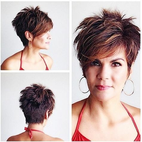 Best New Short Hairstyles For Long Faces – Popular Haircuts Regarding Choppy Short Hairstyles (View 17 of 20)