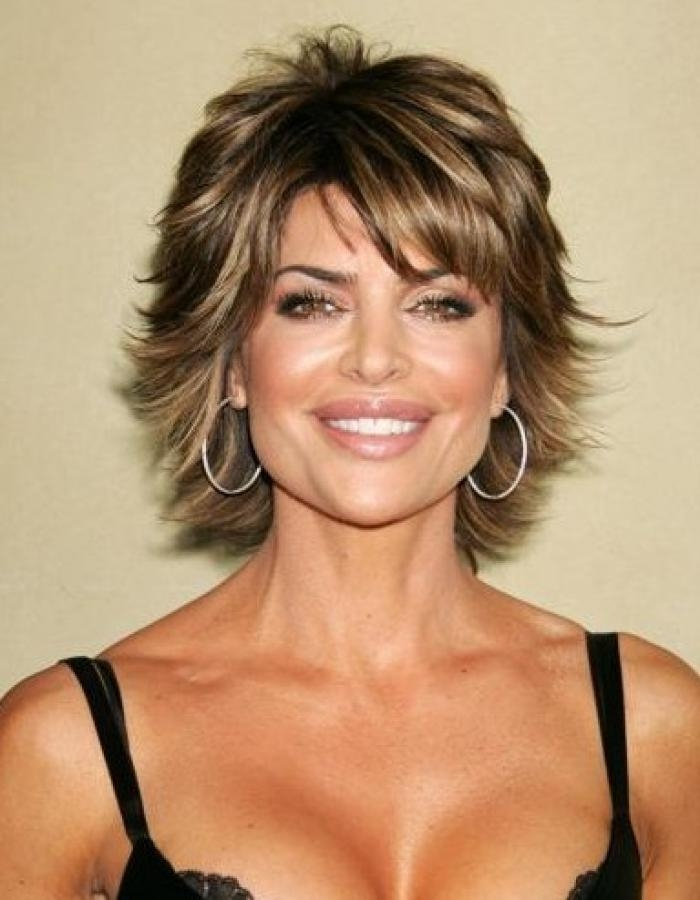 Featured Photo of Short Hairstyles For Women In Their 40S