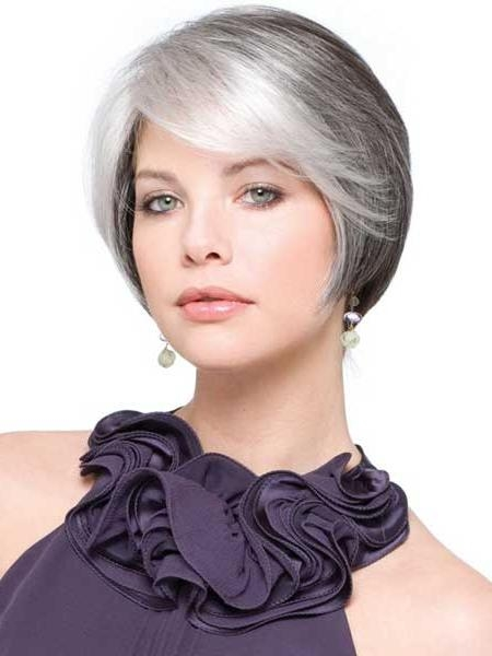 Photo Gallery Of Short Haircuts For Grey Hair Viewing 6 Of 20 Photos