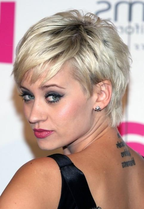 Best Short Hairstyle 2014: Layered Messy Short Pixie Haircut From Pertaining To Pixie Layered Short Haircuts (View 9 of 20)