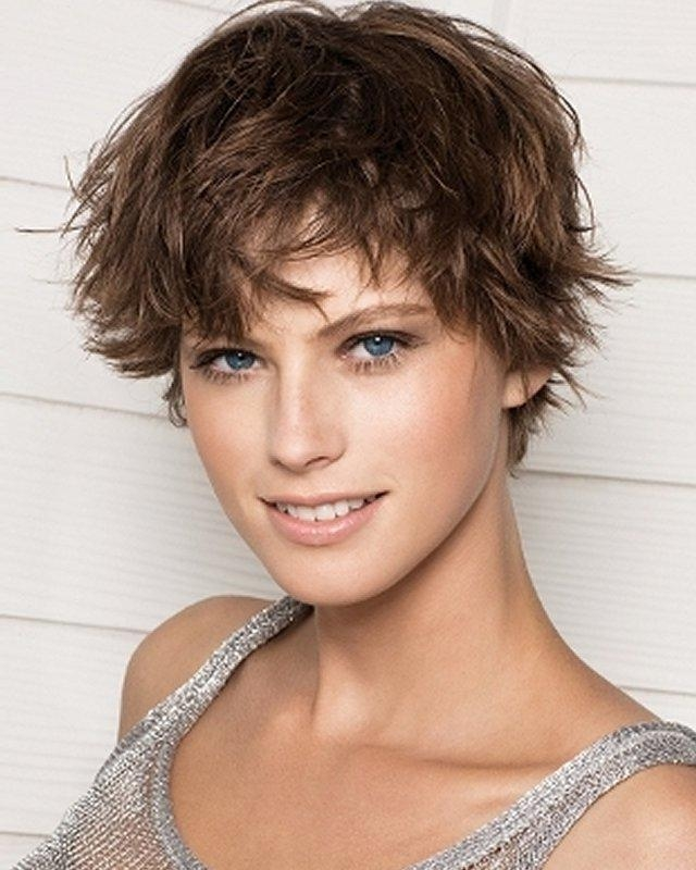 Best Short Hairstyles For Round Faces With Regard To Sporty Short Haircuts (View 7 of 20)