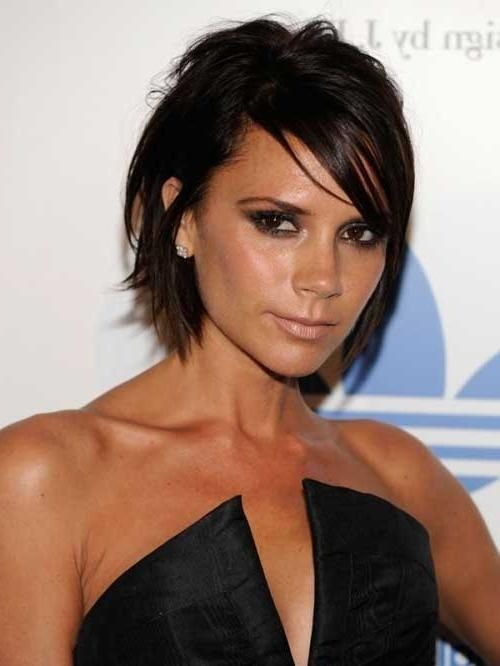 Best Victoria Beckham Bob Hairstyles | Short Hairstyles 2016 Inside Victoria Beckham Short Haircuts (View 9 of 20)