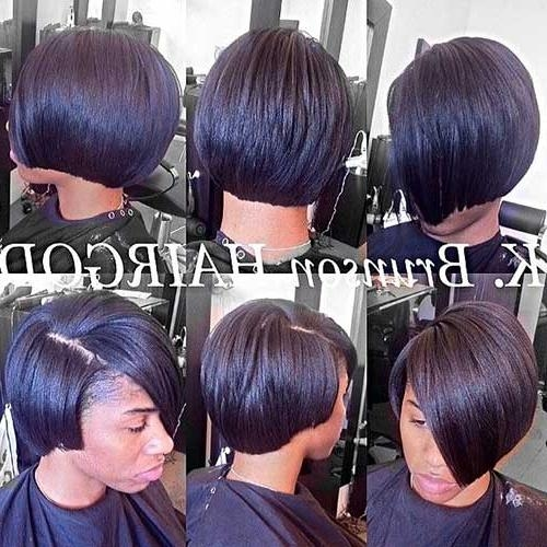 Black Girl Bob Hairstyles 2014 – 2015 | Short Hairstyles 2016 Regarding Black Bob Short Hairstyles (View 14 of 20)