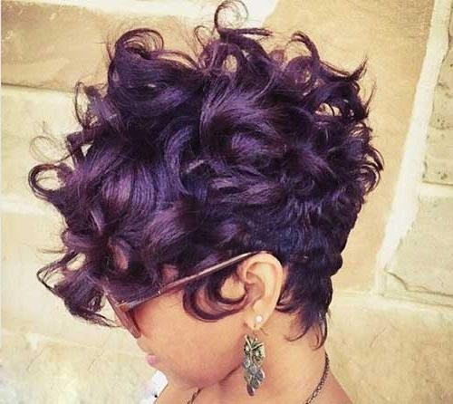 Black Purple Hairstyles – Hairstyle Ideas Within Purple And Black Short Hairstyles (View 11 of 20)