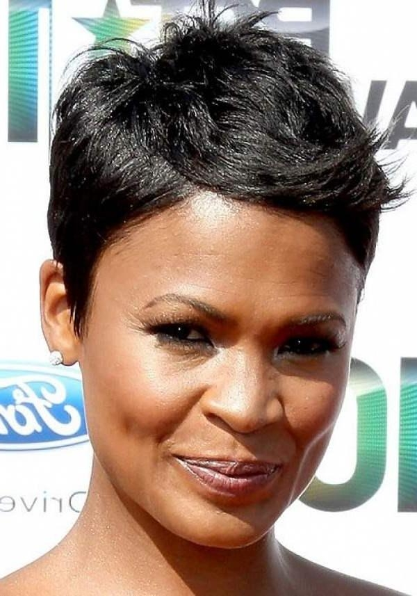 Black Short Hairstyles For Long Faces | My Hairstyles Site With Regard To Short Haircuts For Black Women With Long Faces (View 10 of 20)
