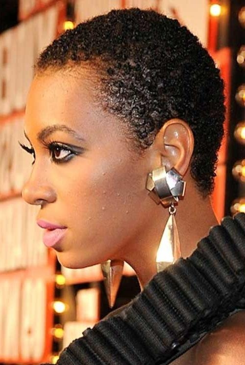 Black Women Haircut | Tumblr Within Short Haircuts For Kinky Hair (View 11 of 20)