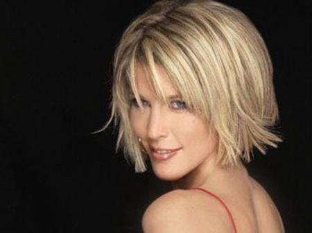 Blonde Short Hairstyles For Women | Short Hairstyles 2016 – 2017 Inside Flipped Short Hairstyles (View 8 of 20)