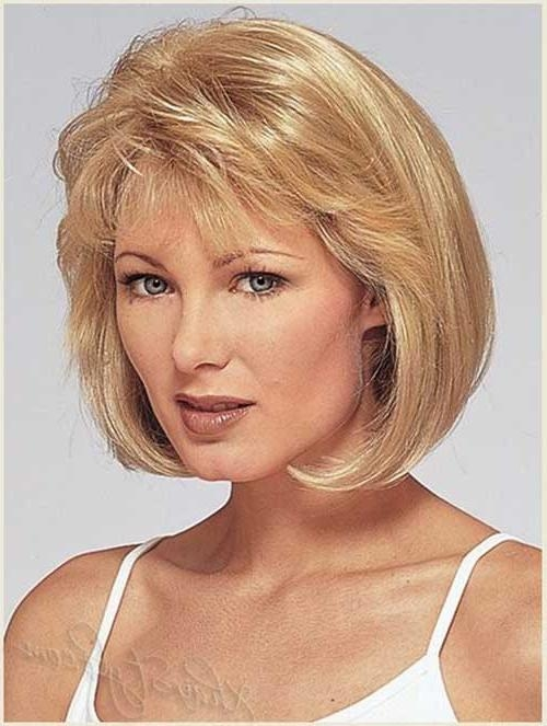 Bob Cuts For Round Faces | Short Hairstyles 2016 – 2017 | Most Regarding Short Hairstyles With Bangs And Layers For Round Faces (View 17 of 20)