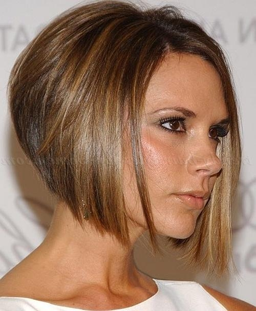 Bob Haircut – Victoria Beckham Inverted Bob Hairstyle | Trendy Regarding Victoria Beckham Short Haircuts (View 16 of 20)