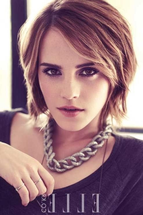 Bob Haircuts For 2014: Stylish Layered Short Bob Hairstyle With Pertaining To Short Haircuts With Bangs And Layers (View 13 of 20)
