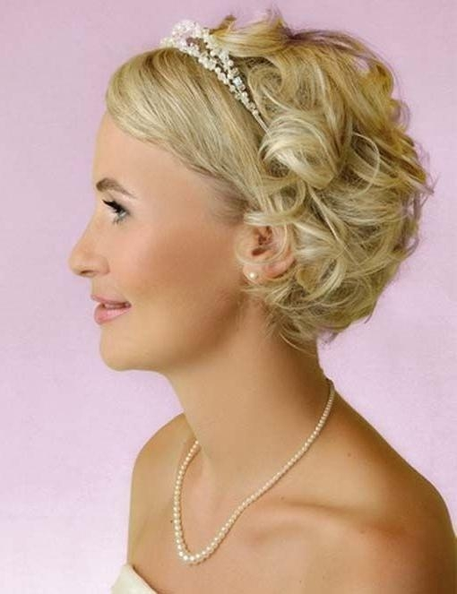 Bridesmaid Hairstyles For Short Hair – Popular Haircuts Inside Short Hairstyles For Bridesmaids (View 4 of 20)