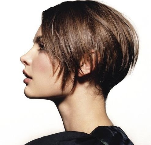 Brunette Jagged Short Haircut | Styles Weekly With Brunette Short Hairstyles (View 13 of 20)