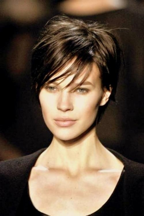 Brunette Short Haircuts | Hairstyle Ideas In 2017 Within Brunette Short Hairstyles (View 15 of 20)