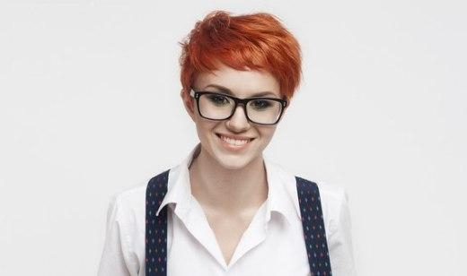 Can Anyone Wear Short Hair? In Short Hairstyles For Women Who Wear Glasses (View 11 of 20)