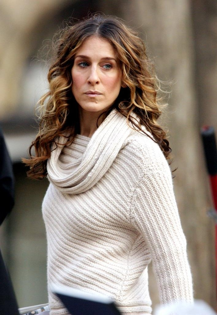 Carrie Bradshaw Hair | Pictures | Popsugar Beauty Throughout Carrie Bradshaw Short Haircuts (View 13 of 20)