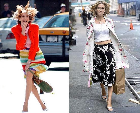 Carrie Bradshaw Hairstyle – Brown Highlights In Carrie Bradshaw Short Hairstyles (View 7 of 20)